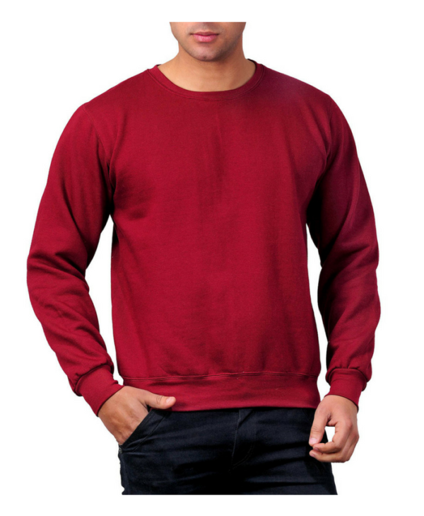 Round-Neck-Sweatshirt
